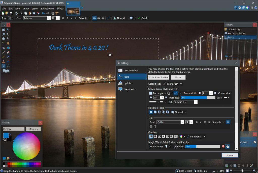 A 4 legjobb ingyenes képszerkesztő program Windowsra